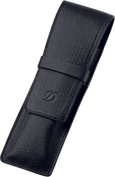 Liberté 1 Pen Case – Grained Black Leather