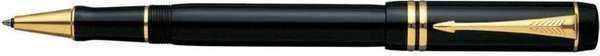 Parker Duofold Rollerball Onyx Black / Gold-Plated Trim