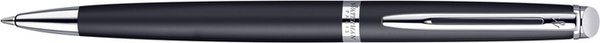 Waterman Hémisphère Twist Ballpoint Matte Black Lacquer / Palladium Trim