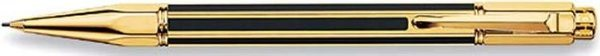 Caran d'Ache Varius China Black Mechanical Pencil Gold-Plated