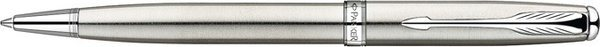 Parker Sonnet Twist Mechanism Ballpoint Pen Brushed Stainless Steel