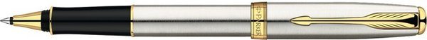 Parker Sonnet Rollerball Stainless Steel / Gold-Plated Trim