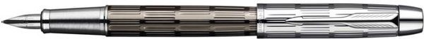 Parker IM Premium Fountain Pen Silver / Metallic Brown / Chiselled