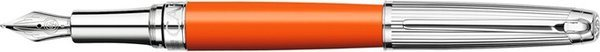Caran d'Ache Léman Fountain Pen Bicolor Orange Saffron