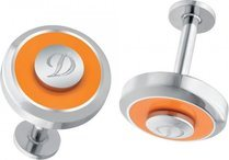 Cuff Links Orange