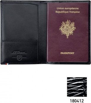 Line D Passport Cover – Black Diamond