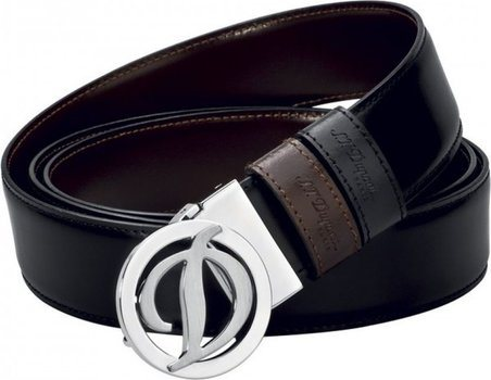 Line D Belt Business Reversible Round D