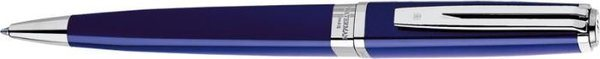 Waterman Exception Slim Twist Ballpoint Blue Lacquer / Silver Clip