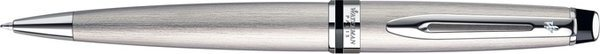Waterman Expert Twist Mechanism Ballpoint Pen Brushed Steel Palladium Trim