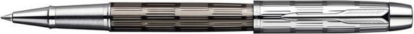Parker IM Rollerball Pen Twin Metal Chiselled