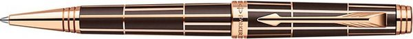 Parker Premier Twist Mechanism Ballpoint Pen Luxury Brown