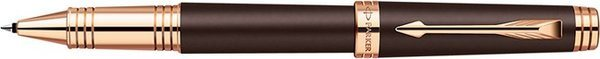 Parker Premier Rollerball Pen Brown / Pink Gold Trim