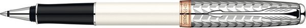 Parker Sonnet Rollerball Pen Stainless Steel / Lacquer / Pink Gold Trim