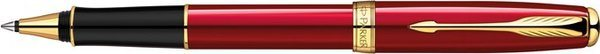 Parker Sonnet Rollerball Red Lacquer / Gold Trim