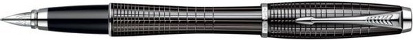 Parker Urban Fountain Pen Black Lacquer Chiselled