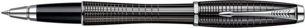 Parker Urban Premium Rollerball Black Lacquer Chiselled