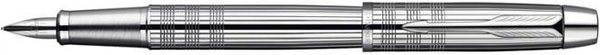 Parker IM Premium Fountain Pen Shiny Chrome Metal Chiselled