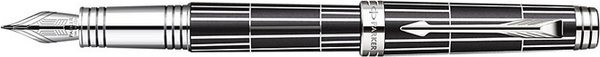 Parker Premier Fountain Pen Luxury Black / Chiselled
