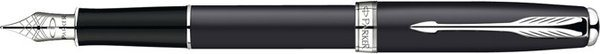 Parker Sonnet Fountain Pen Matte Black / Palladium Trim