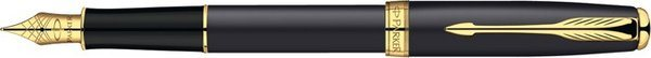 Parker Sonnet Fountain Pen Matte Black / Gold Trim