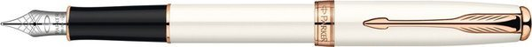 Parker Sonnet Fountain Pen Ivory / Pink Gold Trim